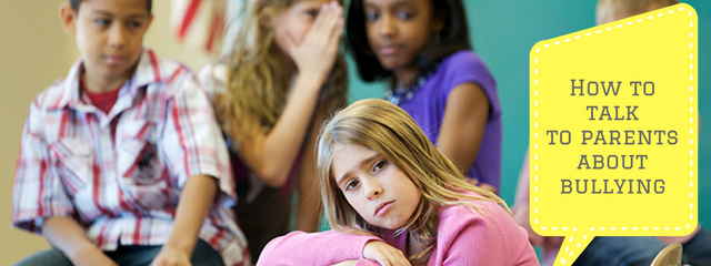 A girl looks sadly at the camera while being bullied by her classmates.